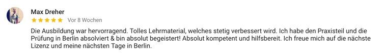 Fitnesstrainer Ausbildung Standort Berlin Max