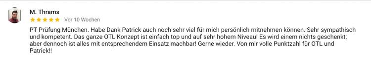 Fitnesstrainer Ausbildung München Bewertung Thrams