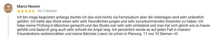 Fitnesstrainer Ausbildung Bewertung Standort München