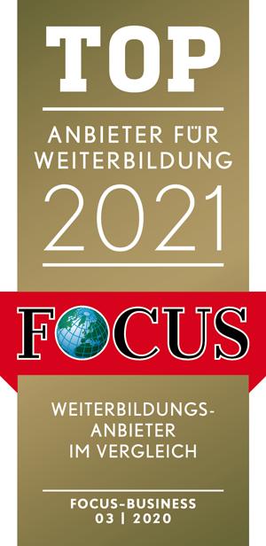 Focus Auszeichnung: Top Weiterbildung